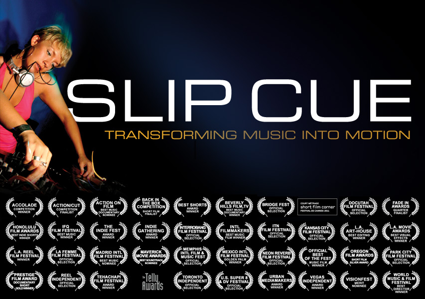 Slipcue: Transforming Music into Motion